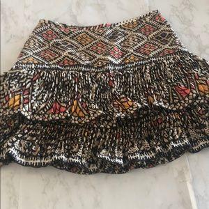 Multi colored BcBg maxazria skirt